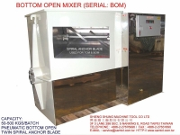 BOTTOM OPEN MIXER